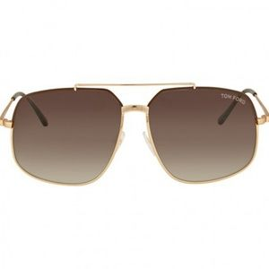 Tom Ford Ronnie Sunglasses Shiny Dark Brown